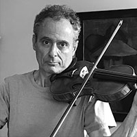 Eugene Drucker and his Soltis Violin
